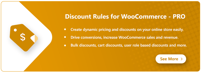 discount rules for woocommerce banner cta