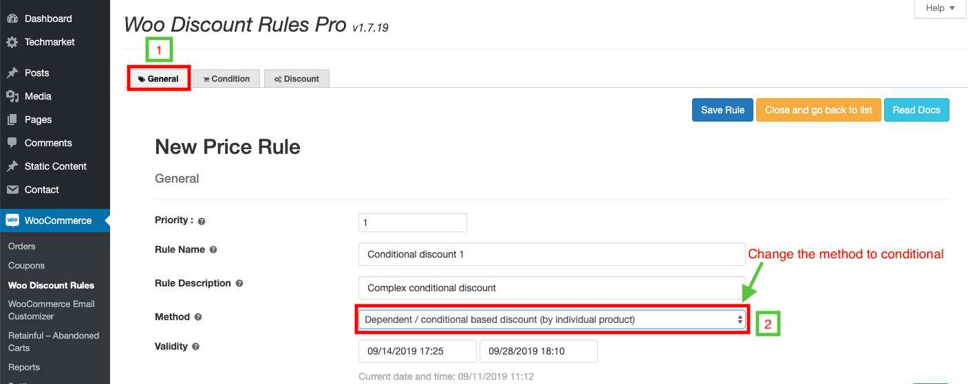 12 woocommerce conditional discount
