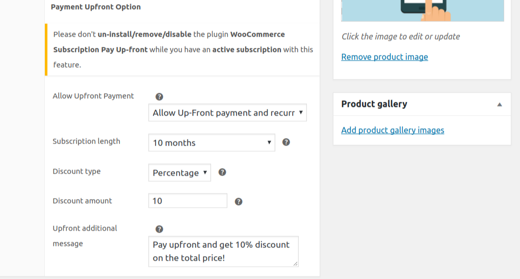 how to setup prepaid subscription for woocommerce site image2