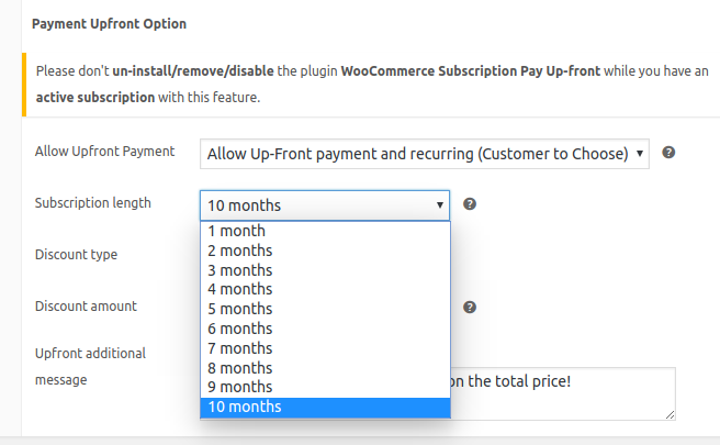 how to setup prepaid subscription for woocommerce site image3