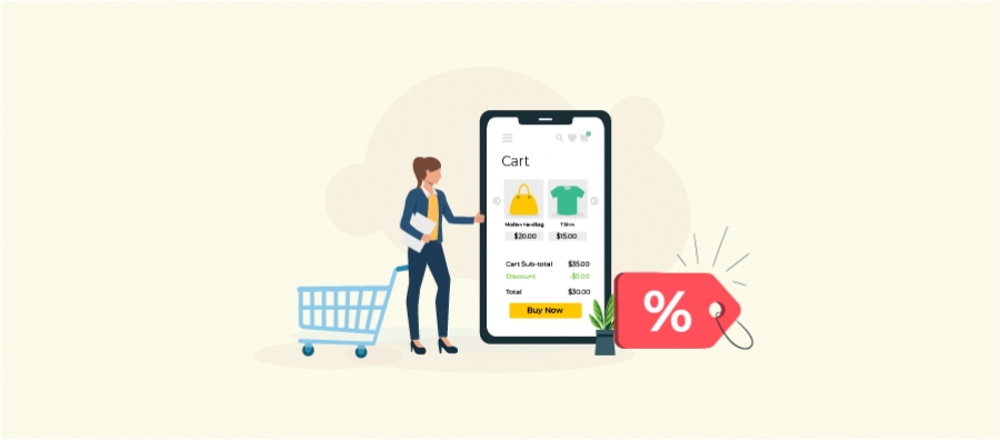 Learn how to create cart discounts in WooCommerce online store