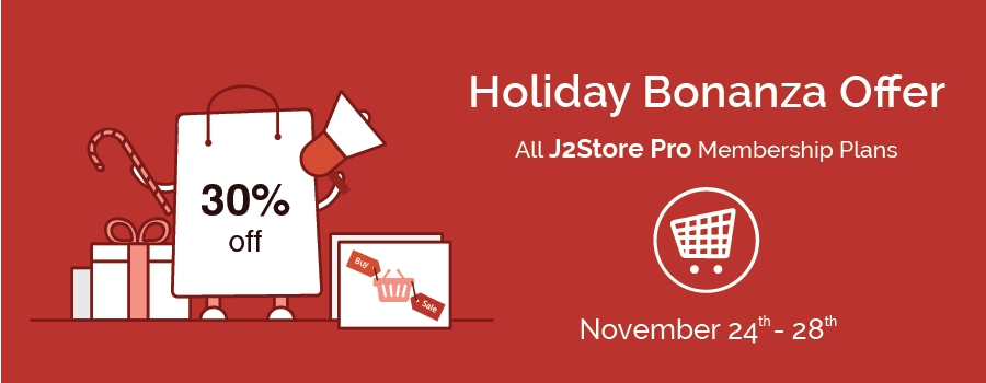 Holiday Bonanza Offer! 30% Off on all Flycart Premium Products