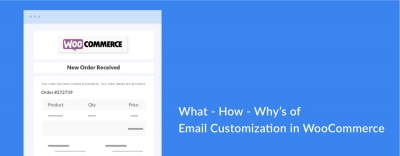 What - How- Why's of Email Customization in WooCommerce