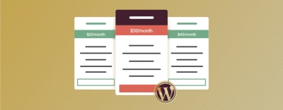 The 5 Best Pricing Table Plugins for Wordpress
